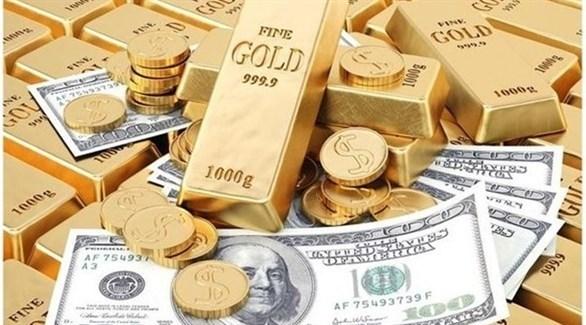 صورة انخفاض أسعار الذهب في المبادلات الفوريه بنسبة 1/%  _  الثلاثاء  6/10/2020