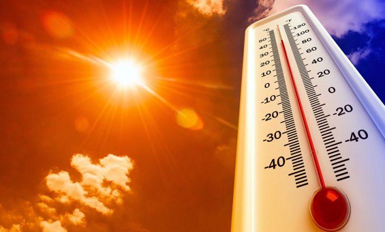 صورة كتله حاره تعود بنا صيفا منشؤها المرتفع الشبه مداري