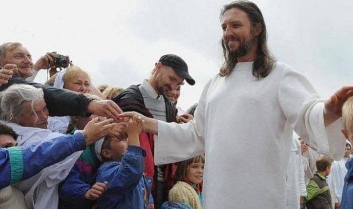 صورة روسيا تلقي القبض على رجل يدعي أنه يجسد المسيح