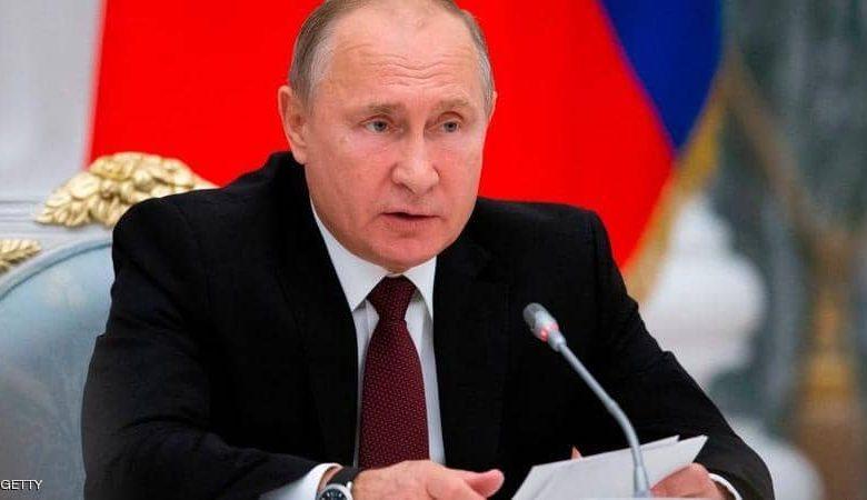 صورة استقالة الرئيس الروسي بوتين قاب قوسين أو أدنى