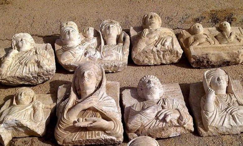صورة وزيرة الثقافه / من قام بتهريب الآثار معروف من قبلنا