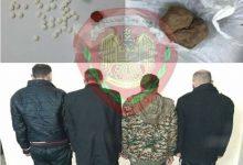 صورة القبض على عصابة تعاطي وترويج المخدرات في السلميه