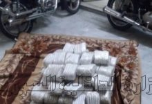 صورة نشاط فرع مكافحة المخدرات ومصادرة اكثر من  100 كغ من الحشيش