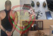 صورة شرطة ناحية عين حلاقيم تلقي القبض على لص وتسترد المسروقات