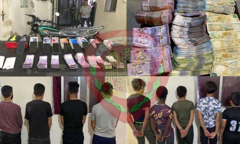صورة قسم شرطة الحميديه / القاء القبض على عصابتي سرقه .. والسرقات بالملايين