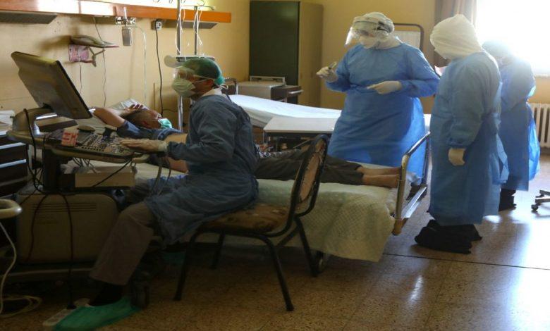 صورة مدير مشفى المجتهد / قد بلغنا الذروه في عدد الاصابات بكورونا