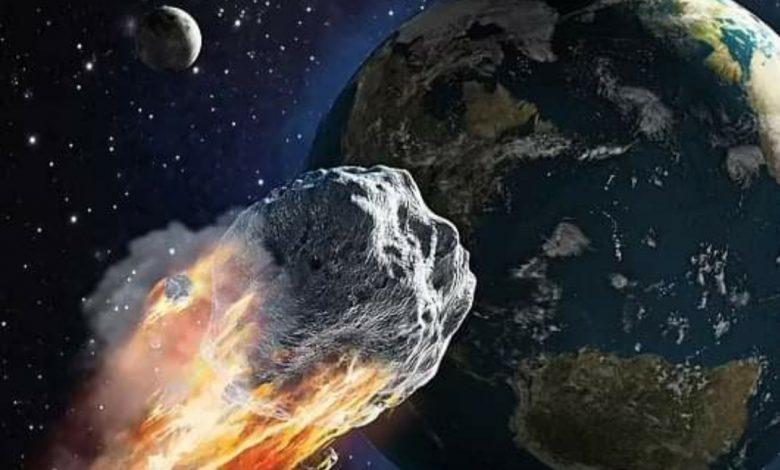 """صورة كويكب بحجم ملعب كرة قدم مر بالقرب من الأرض ولم تلحظه """" ناسا """""""
